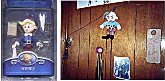 hermey, before and after